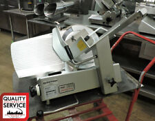 Bizerba Se12 Manual Commercial Deli Meat Slicer