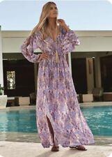 NWT - Melissa Odabash Alison Feathers Beach/Summer Maxi Dress - Size L