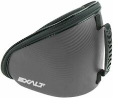 Limited Edition Exalt V3 Carbon Paintball Goggle Case Charcoal / Cyan Microfiber