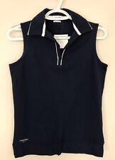 Calvin Klein Golf Sleeveless Navy Shirt size M, NWT!