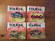 1970 VINTAGE LOT OF 4 TOOTSIETOY TOUGHS TRUCKS DIE CAST Strombecker AMOCO TRUCK+