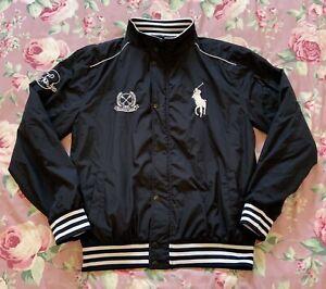 Ralph Lauren Navy Blue Bomber Style Jacket Size 4XL