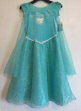 NEW!! - Girls Disney Frozen Dress - Teal - Size: 5                         K-3