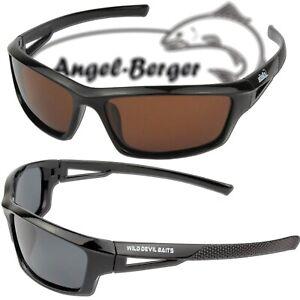 Angel Berger High UV Polarisationsbrille Polbrille Angelbrille Wild Devil Baits