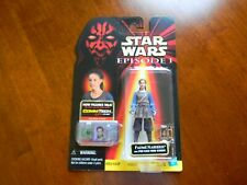 STAR WARS EPISODE I PADME NABERRIE W/ POD RACE VIEW SCREEN  COMMTECH CHIP 1998