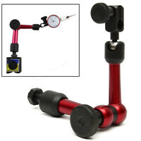 Universal Flexible Indicator Holder Stand Clamp Arm Tool for Dial Test Gauge-US