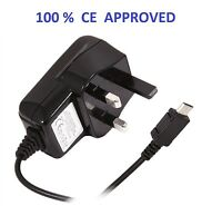 UK MAINS MICRO USB WALL PLUG MOBILE PHONE CHARGER FOR SAMSUNG GALAXY S3 S4 Note