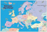 Locator Map of Europe