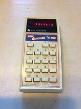 Vintage Texas Instruments Ti-76 Calculator Commemorative Edition Rare