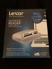 New Lexar Reader Multi-Card 24in1 Hi-Speed Usb 2.0 Haute Vitesse