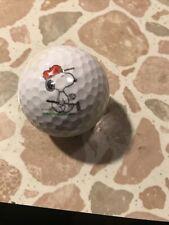 Collectible Snoopy Golf Ball