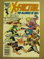 X-Factor #5 1st Brief App Apocalypse Canadian Newsstand $0.95 Price Variant 9.2