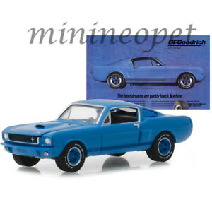 GREENLIGHT 29975 HOBBY EXCLUSIVE 1966 SHELBY GT 350 1/64 BFGOODRICH BLUE