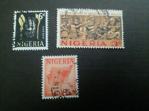 1967 NIGERIA USED STAMPS