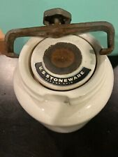 New listing Us Stoneware Akron Ohio Tumbling Jar for Grinding & Pulverizing