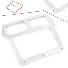 For Ford Explorer 2011-2014 Interior Console Navigation Frame Cover Trim ABS WIN