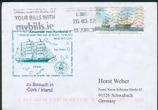 Irland Schiffspost mit St. Alexander von Humboldt II., orig. gelaufen