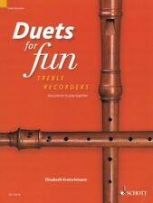 Duets for Fun Easy pieces to play together 2 Treble Recorders New 049046038