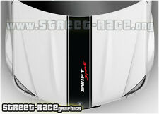 BS1104 Suzuki Swift Sport bonnet racing stripes graphics decals
