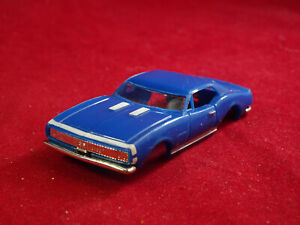 New 1967 Blue Camaro MoDEL MoToRING T-jet HO Scale Slot Car Body Aurora RRR