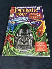 Fantastic Four#57 Key Classic Cover Art By Jack Kirby Fine- No Reserve!