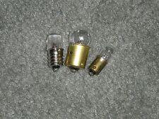 #81 #47-#NE45= (B7A-P) USA  TV 7--Tube Tester Main Pilot Fuse, Bias, Short Bulbs