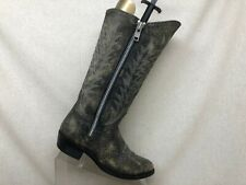 Old Gringo Distress Black Leather Cowboy Western Boots Womens Size 8 B