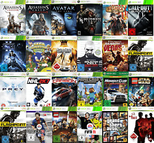 XBOX 360 Spiele Auswahl Kinect FIFA Forza Minecraft Fable LEGO Sonic Generations