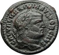 GALERIUS Follis BIG Authentic Ancient Genuine Original Roman Coin GENIUS i71089