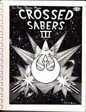 1983 STAR WARS fanzine CROSSED SABERS 3, fiction, art, 27 page comic strip
