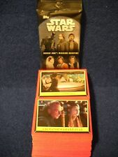 2016 Topps Star Wars Rogue One Mission Briefing 110-Card Base Set & Wrappers