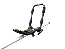 Folding J-Bar Roof Rack Bracket for Kayaks - Includes Straps for 1 Kayak - Riber