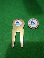 Solent meads golf club Metal golf ball marker & divot tool new set
