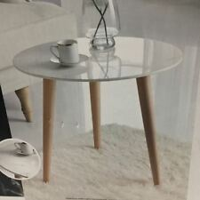 BRAND NEW RETRO STYLE MARBLE EFFECT TABLE - USE AS SIDE, TEA, LAMP, PLANT