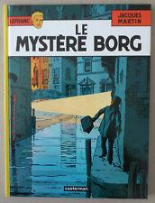 MARTIN  ***  LEFRANC T.3. LE MYSTÈRE BORG  ***  NEUF!