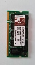 512mb RAM laptop SODIMM Kingston KVR400X64SC3A/512M DDR1 PC-3200 400MHz