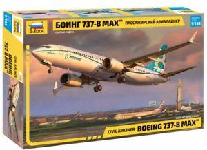 "1/144 Passenger airliner ""Boeing 737-8 MAX"" (Zvezda)"