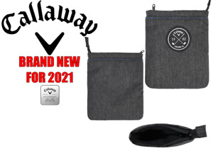 CALLAWAY CLUBHOUSE VALUABLES POUCH ** NEW FOR 2021 **