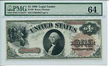 FR 30 1880 $1 Legal Tender Note 64 Choice Uncirculated
