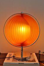 Mid Century Moonlamp Lamellen Tischlampe Space Age im 70er Jahre Stil Kare