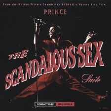 Scandalous Sex EP [EP] by Prince (Prince Rogers Nelson) (CD, 1989, Warner Bros.)