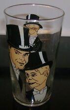 Charlie McCarthy 1930's rare cartoon character glass