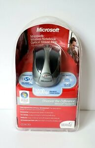Microsoft Wireless Notebook Optical Mouse 4000 Model 1050,1051 For PC/MAC NEW