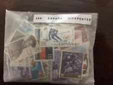 LOTE 300 SELLOS ESPAÑA USADOS TODOS DIFERENTES