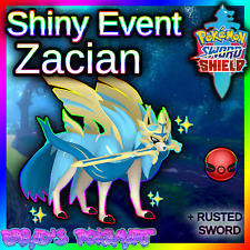✨ Shiny Zacian ✨ Pokemon Sword and Shield Untouched Event 🚀PREORDER🚀