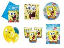 Tutto gialli per la tavola per feste e party sul spongebob