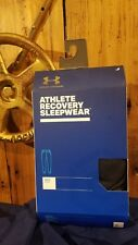 Under Armour Men's M Athlete Recovery Sleepwear Pants Black 1321679 SHIPS FREE