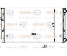 Hella 8mk 376 714-044 radiador, motor refrigeración Behr Hella Service para VW