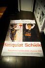 EXHIBITION BASQUIAT 2018 4x6 ft Bus Shelter Advertise Poster Original USED