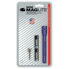 Mag Instrument 116-572 Ultra Mini Maglite Purple Flashlight With Belt Clip And 2